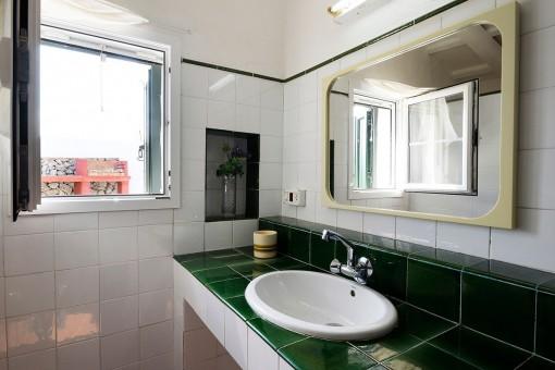 Detailansicht vom Badezimmer