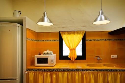 Detaillierte Ansicht der Küche