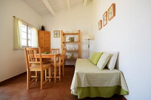 Wohnbereich vom Gästehaus