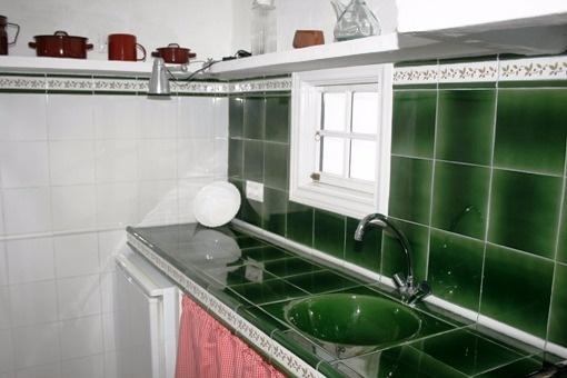 Schöne Küche vom Gästehaus