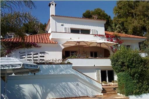 Villa mit erstklassigem Meerblick in Son Bou