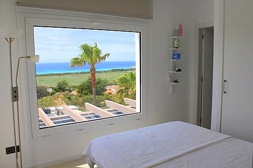 Schlafzimmer mit wunderbarem Meerblick