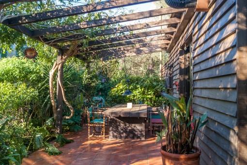 Schönes Grundstück mit 2 Gartenhäusern in Sant Lluís
