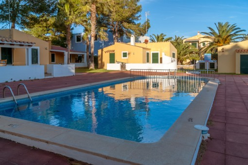 Apartment mit Pool in Cala'n Bosch