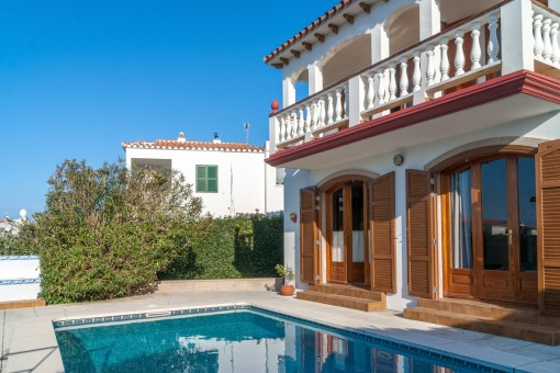 Villa mit privatem Pool und Garten in Addaia