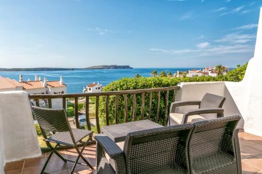 Alleinstehende Villa in Platges Fornells mit spektakulärem Meerblick