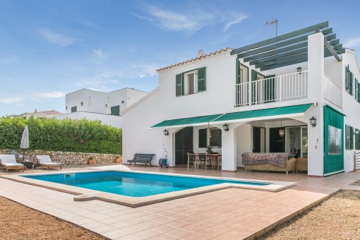 Schönes geräumiges Haus mit Pool im harmonisch gelegenen Addaia