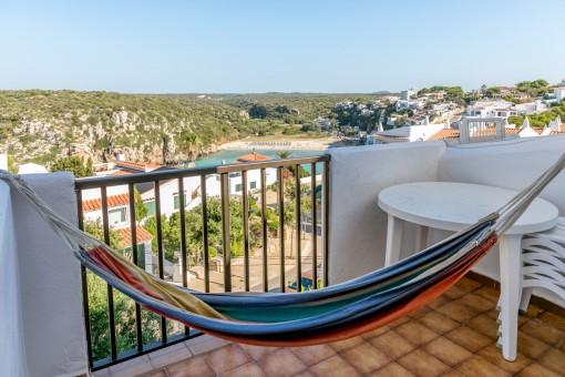 Apartement mit Ferienvermietungslizenz und Blick auf die Bucht von Cala en Porter