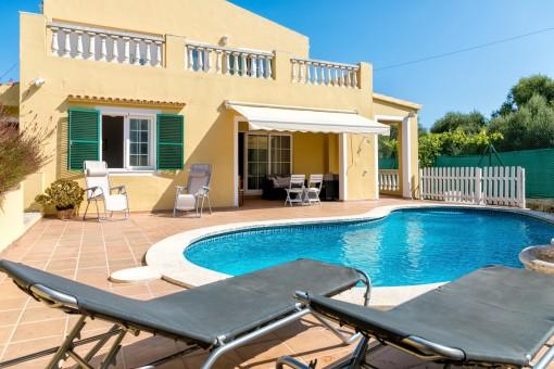 Großes, geräumiges Haus mit Pool in schöner, ruhiger Lage in Son Vitamina de Mar