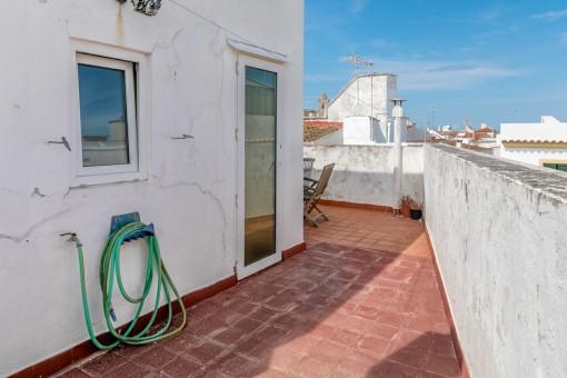 Dachterrasse mit herrlichen Blick über die Altstadt