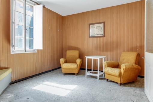 Sitzecke im Wohnbereich