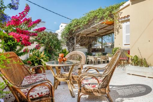 Schönes, freistehendes Einfamilienhaus mit Pool in Son Vilar