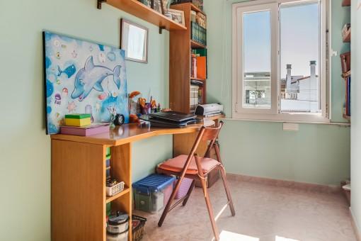 Kleiner Bürobereich