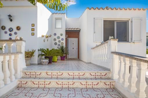 Tolles Haus in Sol Del Este mit Pool und Panoramablick von der Terrasse