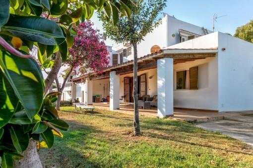 Renovierungsbedürftiges Haus in Cala'n Blanes
