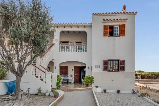 Schönes Apartment mit Meereblick in Na Macaret