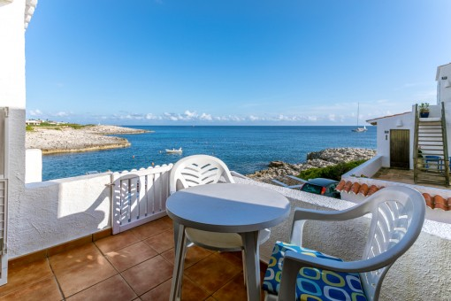 Apartment mit Meerblick in Cala Torret