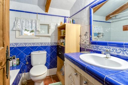 Badezimmer des Gästehauses