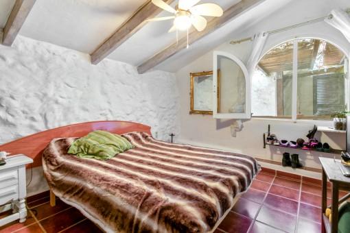 Schlafzimmer des Gästehauses