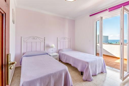 Das dritte Meerblick-Schlafzimmer