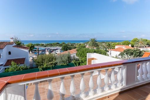 Villa mit traumhaften Meerblick in Son Bou