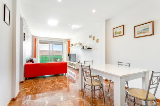 Schöne Wohnung am Paseo Maritimo von Ciutadella  mit Meerblick