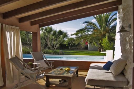 Schönes, ruhig gelegenes Haus im Grünen bei Binissaida