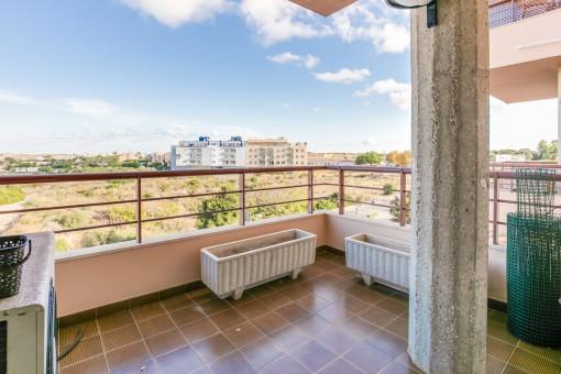 Schöne, große Wohnung mit Aussicht in Mahón