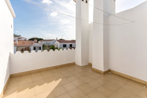 Eines von 2 Terrassen