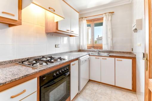 Küche im ersten Stock