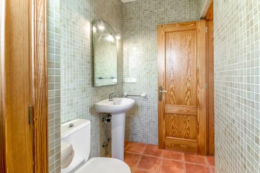 Separates Gäste WC
