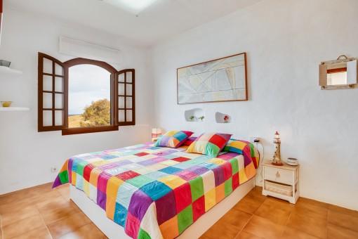 Erstes Doppelschlafzimmer