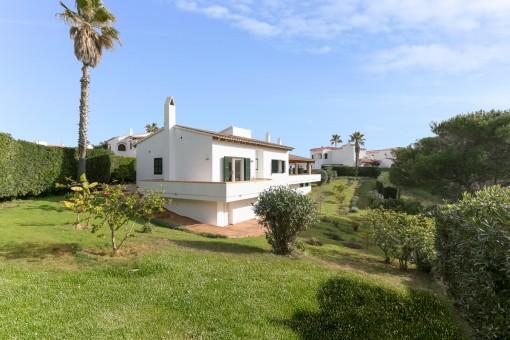 Schöne, große Villa mit Meereszugang bei Arenal d'en Castell