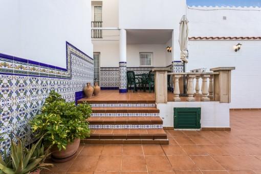 Tolles renoviertes Haus mit 3 Etagen in Es Castell