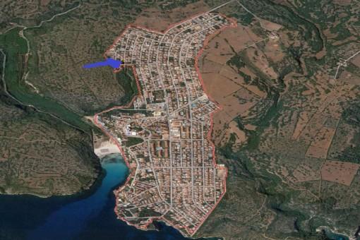 Lage des Grundstückes
