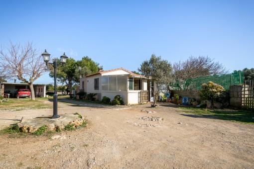 Finca in Binisaida mit 2 Häusern und großem Grundstück