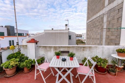 Haus mit englischer Architektur in Cala Corb, Es Castell