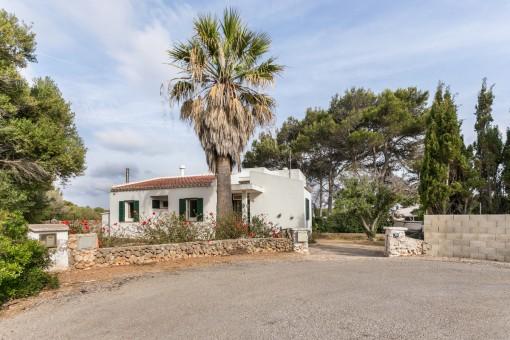 Schönes Haus mit Meerblick in Cap d'en Font, in der Nähe von Calo Blanc und Cala Binisafuller