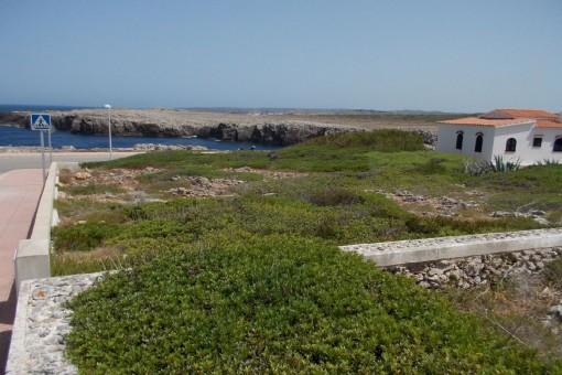 Baugrundstück in Punta Grossa in erster Meereslinie