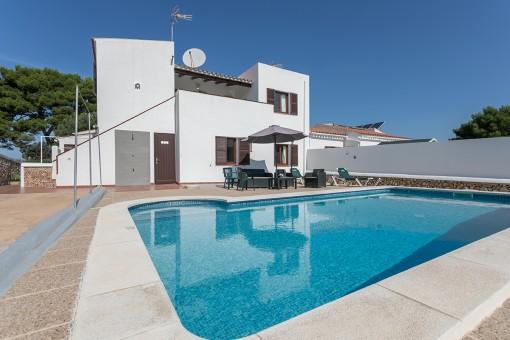 Schöne Villa mit Vermietlizenz in Cala Galdana