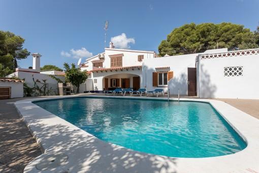 Spektakuläre Villa in Cala Galdana mit Vermietlizenz für 9 Personen