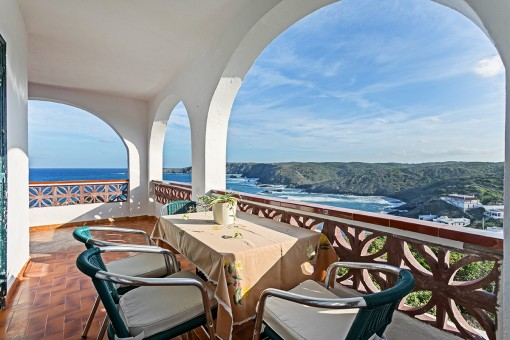 Ein Haus mit einer außergewöhnlichen Lage und einem atemberaubenden 360 ° Blick in Es Murtar