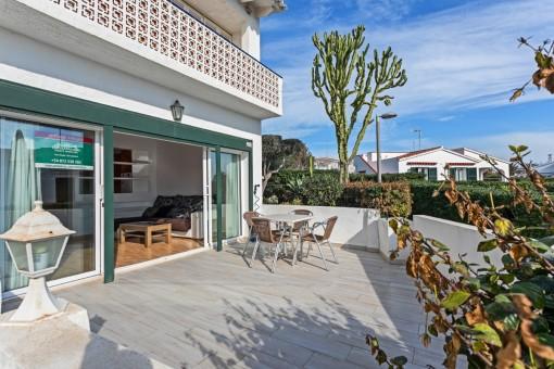 Tolle Erdgeschosswohnung mit 2 privaten Terrassen in S´Algar