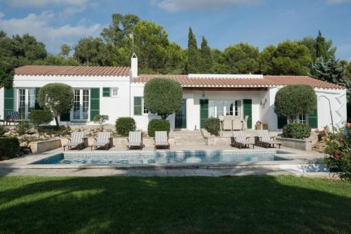 Wunderschöne Villa in ruhiger Lage mit Meerblick in Binibeca