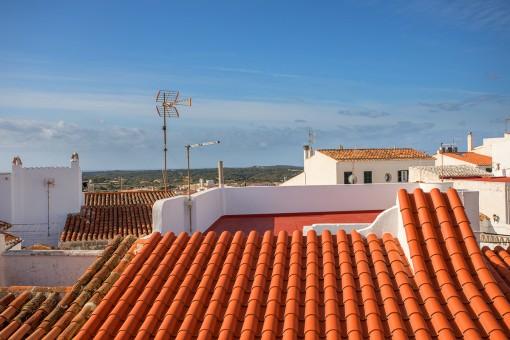 Zum Renovieren: Stadthaus im historischen Zentrum von Alaior mit Blick auf das Meer, den Monte Toro und die umliegende Landschaft