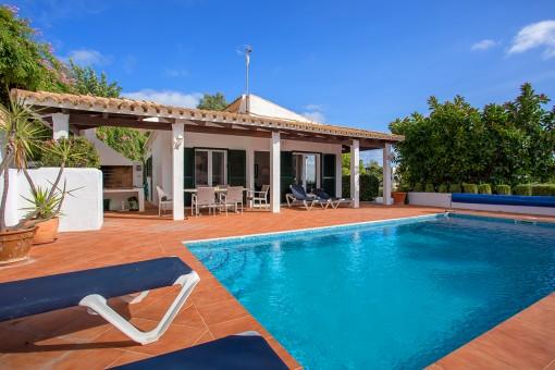 Tolles Haus mit Pool und schönem privaten Außenbereich in Cala Llonga