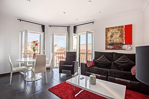 Tolle Wohnung mit schönem Blick über Alaior und direkt einzugsbereit