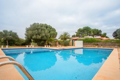 Villa in bester ruhiger Lage mit Garten nahe Binibeca Strand
