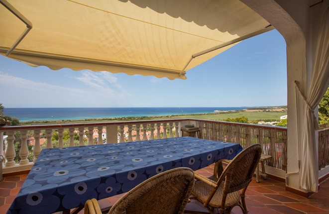 Haushälfte mit viel Charme, toller Aussicht aufs Meer in Torre Soli, Son Bou