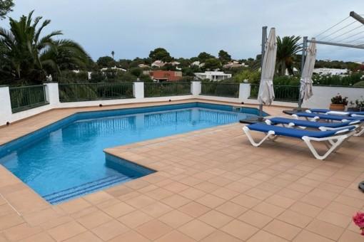 Wunderschöne Villa in Top Lage bei Binibeca mit Garten und Pool